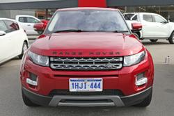 2013 Land Rover Range Rover Evoque TD4 Pure L538 MY13 4X4 Constant Red