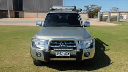 2011 Mitsubishi Pajero Platinum NW MY12 4X4 Champange