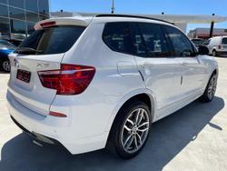 2016 BMW X3 xDrive20d F25 LCI 4X4 Constant White