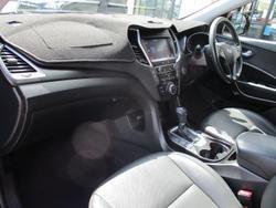 2016 Hyundai Santa Fe Elite DM3 Series II MY17 4X4 On Demand Red Merlot