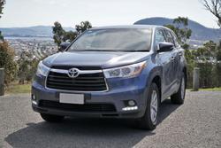 2016 Toyota Kluger GX GSU50R Blue