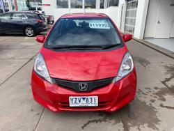 2012 Honda Jazz Vibe GE MY12 Red