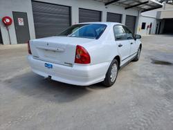 2001 Mitsubishi Magna Executive TJ White