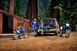2021 Yamaha TT-R110E TT-R Team Yamaha Blue & White