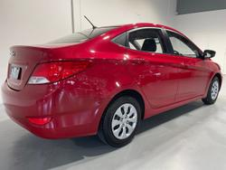 2017 Hyundai Accent Active RB4 MY17 Red