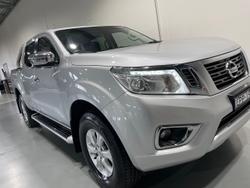 2016 Nissan Navara ST D23 Silver