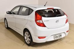 2018 Hyundai Accent Sport RB6 MY18 Chalk White