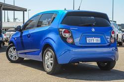 2012 Holden Barina TK MY11 Horizon Blue