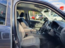 2018 Volkswagen Amarok TDI420 Core Plus 2H MY18 4X4 Constant Starlight Blue