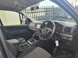 2017 Volkswagen Amarok MY17 Volkswagen Amarok Core 4Mot TDi420 Auto Dual Cab Ute (S7BA3A/17) Grey