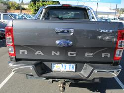 2017 Ford Ranger XLT PX MkII 4X4 Dual Range Meteor Grey
