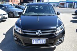 2012 Volkswagen Tiguan 103TDI 5N MY13 Four Wheel Drive Deep Black