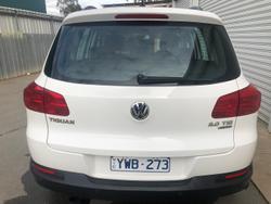 2011 Volkswagen Tiguan 125TSI 5N MY11 Four Wheel Drive Candy White