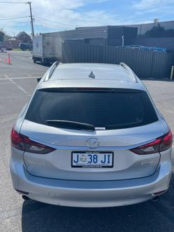 2018 Mazda 6 Touring GL Series Sonic Silver