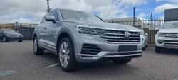 2021 Volkswagen Touareg 210TDI Elegance CR MY22 Four Wheel Drive Antimonial Silver