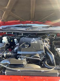 2014 Mitsubishi Triton GLX-R MN MY15 4X4 Dual Range Red