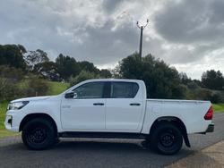 2019 Toyota Hilux SR GUN126R 4X4 Dual Range Glacier White