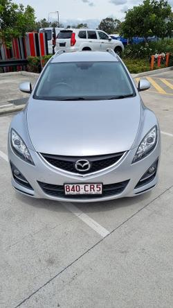 2012 Mazda 6 Touring GH Series 2 MY12 Sunlight Silver