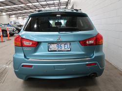 2011 Mitsubishi ASX XA MY12 Blue