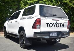 2018 Toyota Hilux SR Hi-Rider GUN136R White