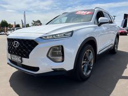 2018 Hyundai Santa Fe Highlander TM MY19 4X4 On Demand White Cream