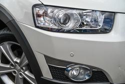 2012 Holden Captiva 7 LX CG Series II AWD White