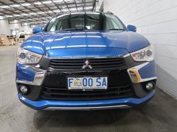 2016 Mitsubishi ASX LS XC MY17 Lightning Blue