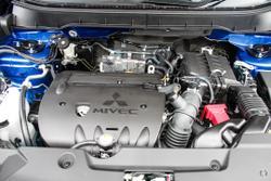 2021 Mitsubishi ASX ES Plus XD MY21 Lightning Blue