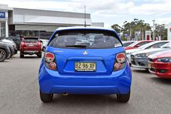 2011 Holden Barina TM Boracay Blue