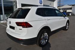 2018 Volkswagen Tiguan 140TDI Highline Allspace 5N MY18 Four Wheel Drive Pure White
