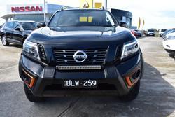 2020 Nissan Navara N-TREK Warrior D23 Series 4 4X4 Dual Range Cosmic Black