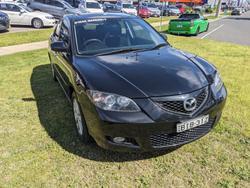 2009 Mazda 3 Maxx Sport BK Series 2 MY08 Black