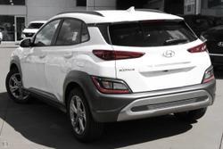 2021 Hyundai Kona Elite OS.V4 MY21 White