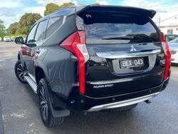 2018 Mitsubishi Pajero Sport Exceed QE MY19 4X4 Dual Range Pitch Black