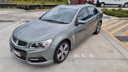 2014 Holden Commodore SV6 VF MY14 Prussian Steel