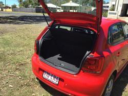 2011 Volkswagen Polo 77TSI Comfortline 6R MY11 Flash Red
