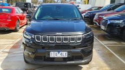 2021 Jeep Compass Launch Edition M6 MY21 Black