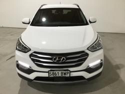 2017 Hyundai Santa Fe Active X DM5 Series II MY18 White Crystal