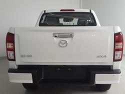 2021 Mazda BT-50 XTR TF 4X4 Dual Range Ice White