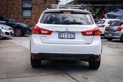 2015 MITSUBISHI ASX 2015 MITSUBISHI ASX LS (2WD) 4D WAGON 4CYL White