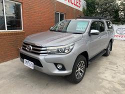 2018 Toyota Hilux SR5 GUN126R 4X4 Dual Range Silver