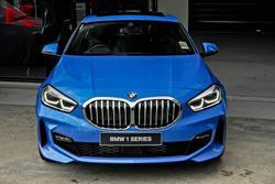 2021 BMW 1 Series 118i M Sport F40 M Misano Blue