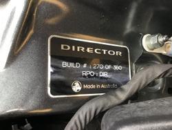 2017 Holden Calais Director VF Series II MY17 Son of a Gun Grey