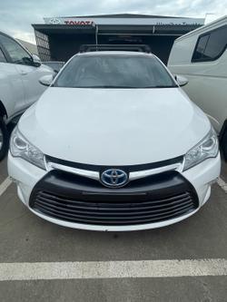 2015 Toyota Camry Hybrid H AVV50R White
