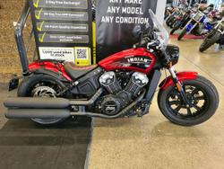 Indian Scout Bobber Red