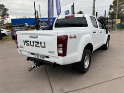 2018 ISUZU D-MAX SX (4x4) TF MY18 White