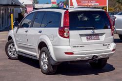 2013 Great Wall X200 K2 MY13 Four Wheel Drive Titanium White