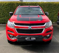 2017 Holden Colorado Z71 RG MY17 4X4 Dual Range Absolute Red