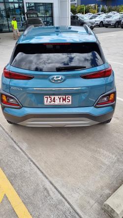 2018 Hyundai Kona Elite OS MY18 Ceramic Blue