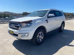2016 Ford Everest Trend UA 4X4 Dual Range Cool White